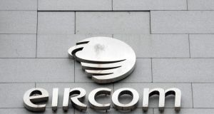 Eircom had 37,000m of telephone cable stolen last year. Photograph: Aidan Crawley/Bloomberg