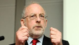 "Central Bank governor Patrick Honohan yesterday: ""Permanent debt relief is not something that can be offered to all"". Photograph: Dave Meehan"