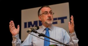Impact general secretary Shay Cody said revised deal contained improved proposals, including ring-fenced flexitime and work-sharing arrangements. Photograph: Dylan Vaughan.