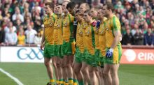 All-Ireland champions Donegal have named the same team that started last September's final for Sunday's eagerly awaited clash  against Tyrone.
