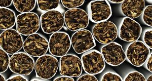 Revenue said the cigarettes represented a loss to the Exchequer of €3.6 million. File photograph: Bloomberg