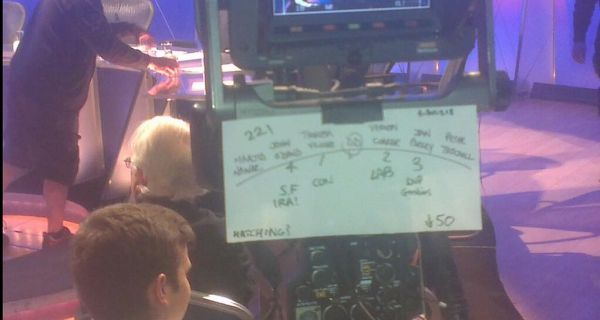 The picture of the floor plan from the BBC programme emerged this morning. Photograph:  Simon Whittaker