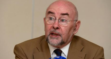 Minister for Education Ruairí Quinn said today that opponents of the Haddington Road deal had to be respected.  Photograph: Alan Betson/The Irish Times
