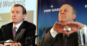 "Taoiseach Enda Kenny and Minister for Finance Michael Noonan were "" quick to hit back, insisting that international tax and accountancy rules were at the source of the problem rather than Ireland's 12.5 per cent tax rate "". Photograph: Matt Kavanagh"