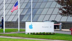 Apple Operations International, a subsidiary of Apple Inc, is seen in Hollyhill, Cork. Photograph: Michael MacSweeney/Reuters