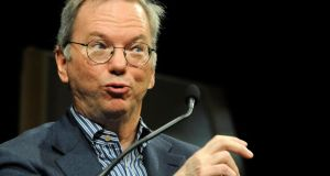Google Executive Chairman Eric Schmidt )