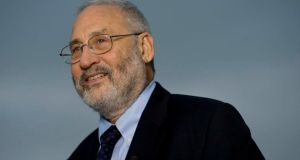 "Joseph Stiglitz: ""Clearly the economy is not back to normal, and to accept this as the new normal would be really wrong."" Photograph: Daniel Acker/Bloomberg"