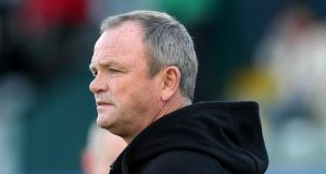 "Ulster coach Mark Anscombe: ""They took the try well but two minutes into the game and we are seven points down."" Photograph: Inpho"