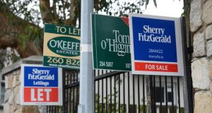 An amendment allowing landlords to quicken the eviction of non-rent paying tenants who remain in situ will be introduced in the Oireachtas this week.  Photograph: Cyril Byrne / The Irish Times