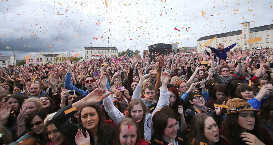 Derry youth rock out for a Big Weekend