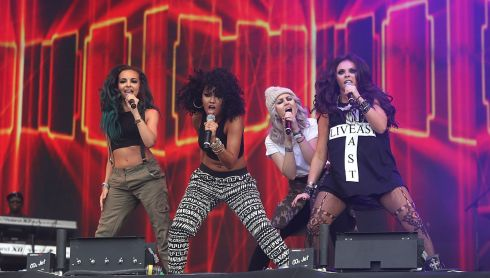 It's the phenomenon known as Little Mix. Photograph: Niall Carson/PA Wire
