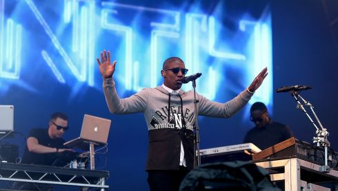 Labrinth in the guise of being unScripted. Photograph: Niall Carson/PA Wire