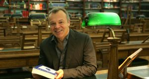 Broadcaster and comedian Graham Norton is one of three Cork men who will be conferred with honorary doctorates at University College Cork (UCC) next month.  Photograph: Cyril Byrne.