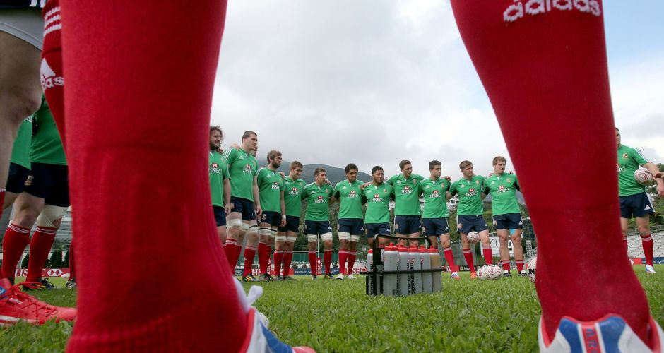 British & Irish Lions get set in Hong Kong