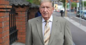 Former Lord Mayor of Cork John Murray pictured at Cork district court. Photograph:  Daragh Mc Sweeney
