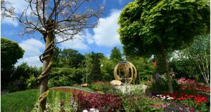 Jack and Jill Children's Foundation garden by Kildare Growers in association with Peter O'Brien Landscapes
