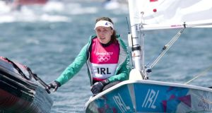 Annalise Murphy: won second gold medal of the month on the European Olympic classes circuit. Photograph: Inpho
