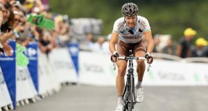 Previously the leader of the Ag2r La Mondiale squad, Nicolas Roche  will likely be a super-domestique for double Tour de France winner and team leader Alberto Contador in this year's event. Photograph: Bryn Lennon/Getty Images
