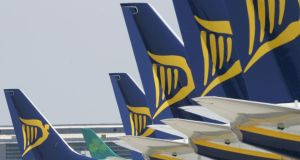 Ryanair came out fighting and warned that if the commission maintains this position in its final ruling in July, it will take it all the way to the British Court of Appeal. Photograph: Alan Betson