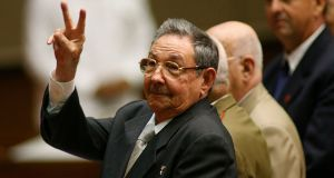 The government of Cuban president Raul Castro has described the country's inclusion on a US list of state sponsors of terrorism as shameful. Photograph: Prensa Latina/Reuters.