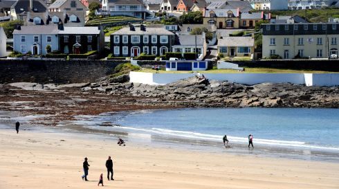 The seafront at Kilkee, Co Clare. The Loop Head area recently won The Irish Times Best Place to Holiday competition. Photograph: Alan Betson/The Irish Times