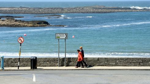The seafront at Kilkee, Co Clare. Photograph: Alan Betson/The Irish Times