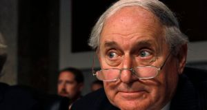 Senator Carl Levin:  had repeatedly described Ireland as a tax haven during senate hearings. Photograph: Reuters