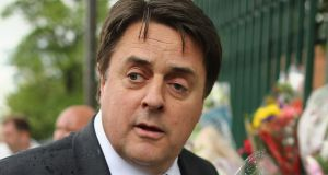 British National Party (BNP) leader Nick Griffin. Photograph: Dan Kitwood/Getty Images