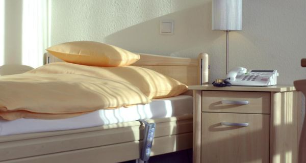 The number of acute care hospital beds in Ireland at 2.3 per 1,000 is well below the OECD average. Photograph: Getty Images
