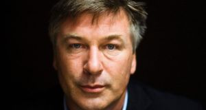 Actor Alec Baldwin  directed a series of  tweets at filmmaker Phelim McAleer, who has made a film in support of fracking entitled FrackNation. Photograph: Mark Blinch/Reuters