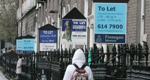 Property prices across the State rose in April but were 1.2 per cent lower than in the same month in 2012. Photograph: Frank Miller/The Irish Times