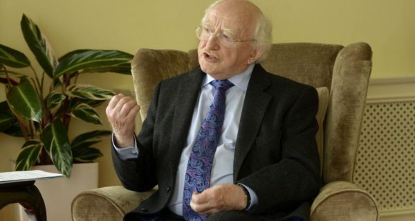 "President Michael D Higgins: ""Even in those parts of the world where citizens are no longer misinformed by an ideological state media control, the risk of censorship can still present itself in the form of monopolies and oligarchy."" Photograph: Brenda Fitzsimons"
