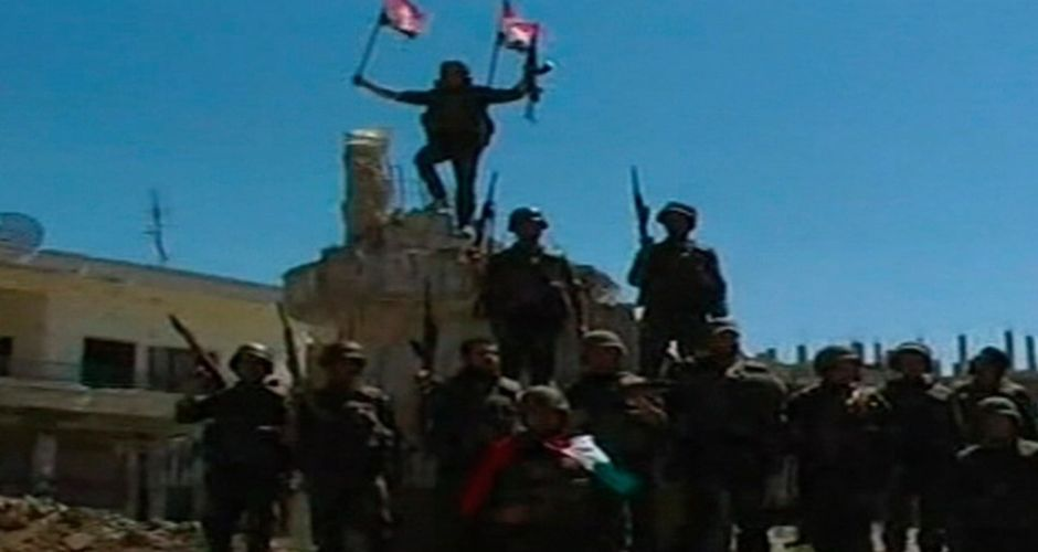 Syrian state forces take crucial city