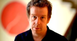Author Kevin Barry, the winner of the International Impac Dublin Literary Award for his novel, City of Bohane. Photograph: Cyril Byrne