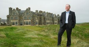 Joe Russell, general manager of The Lodge at Doonbeg and Doonbeg Golf Club. Photograph:  John Kelly