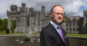 Ashford Castle general manager Niall Rochford. Photograph: Joe O'Shaughnessy