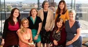 Ciara Brennan, teacher; Marissa Carter, entrepreneur; Eilish Hardiman, chief executive of Tallaght Hospital; Siobhan Parkinson, author and former children's laureate; Fiona Haughney, IT project manager; Caroline Erskine, communications consultant and journalist; Freda McGrane, retired from a career in administration