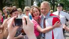 "Graham Norton after he received an honorary doctorate at University College Cork yesterday. ""I was more surprised than excited when I heard but being here now it really is a proper thrill,"" the broadcaster said.  Photograph: Daragh McSweeney/Provision"