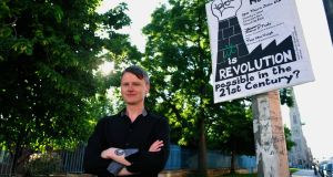 James O'Toole, author of  Revolution, A Beginner's Guide . 'No working class person would use the word 'proletariat'. So I really wanted to make these words accessible to people from my own background.'   Photograph: Aidan Crawley