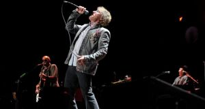 Roger Daltrey at The Who's performance at the O2 in Dublin. Photograph: Patrick O'Leary