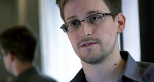 Handout image of Edward Snowden provided by the Guardian via Getty Images