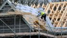 The construction sector in Northern Ireland remains the only one still waiting a kickstart back to growth, according to data from Ulster Bank. Photograph: Rui Vieira/PA Wire