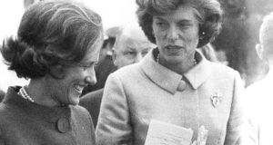 Dorothy Tubridy and Eunice Shriver
