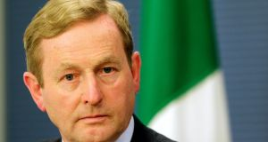 Taoiseach Enda Kenny during a news conference in Riga on June 6th. Photograph: Ints Kalnins/Reuters