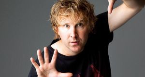 Jason Byrne: is the biggest-selling comedy act in the history of the Edinburgh Fringe Festival.