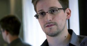 Edward Snowden, who worked as a contract employee at the National Security Agency. Photograph: The Guardian