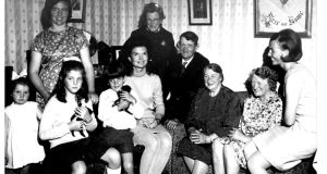 Jackie Kennedy and her children visit their Dunganstown relatives in 1967.