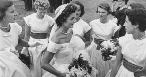 Jackie Kennedy on her wedding day.