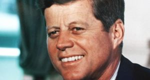 John F Kennedy showed grace under fire throughout his time in the White House