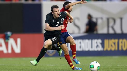 Seamus Coleman leaves Pedro in his wake